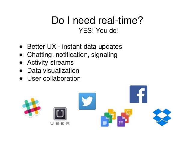 Real-Time Web applications with WebSockets