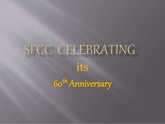 its 60th Anniversary