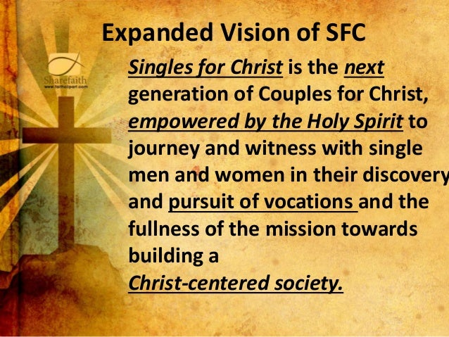 Singles for christ org