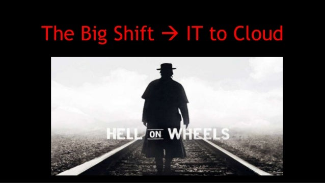 The Big Shift  IT to Cloud