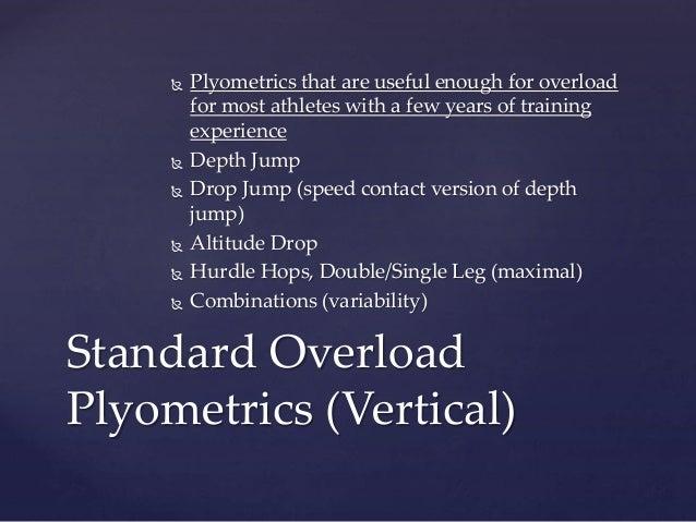 Speed Football Consortium Plyometrics Presentation