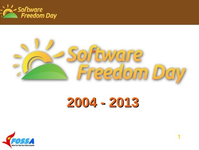 1 2004 - 20132004 - 2013