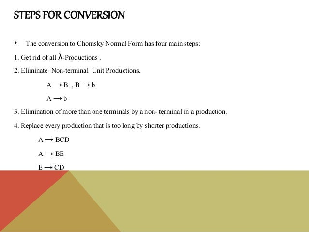CNF & Leftmost Derivation - Theory of Computation Slide 3