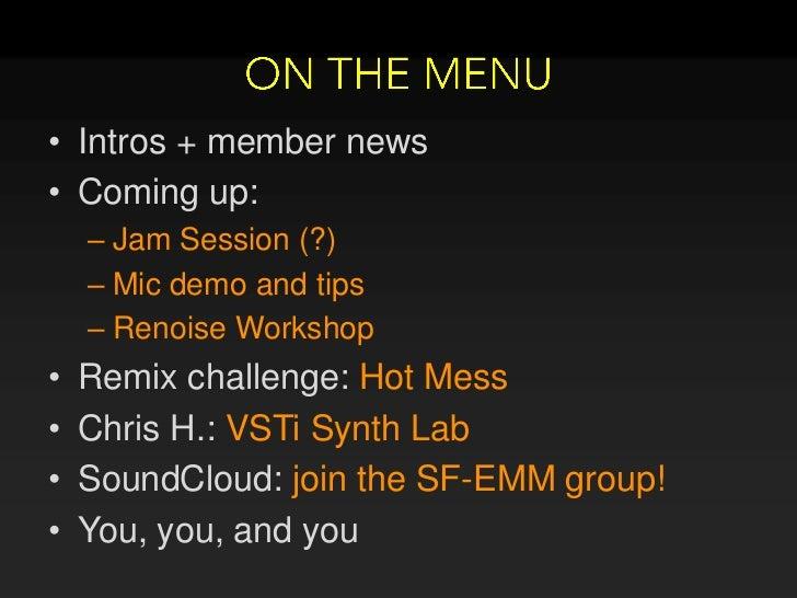 SF-EMM April 2011 Slide 2
