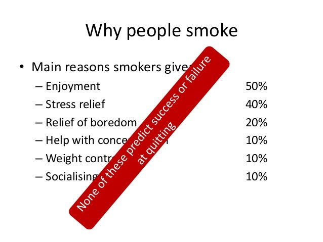 """why people smoke Indeed, this is exactly what happened with people who smoke the industry's """"light """" cigarettes, which are designed to encourage this."""