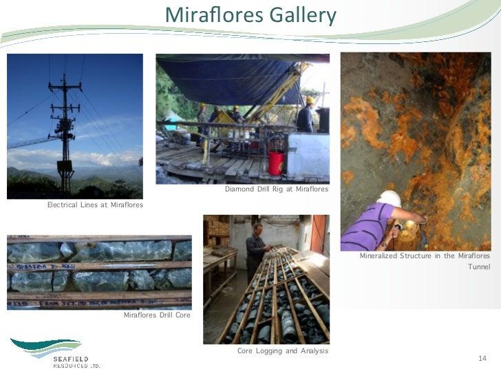 Miraflores Gallery                                                 Diamond Drill Rig at MirafloresElectrical Lines at M...