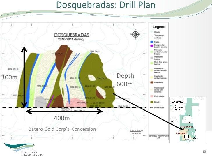 Dosquebradas: Drill Plan  300m                                                     Depth                      ...