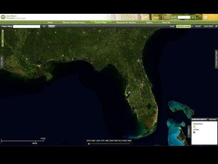 Florida Suburbanization, 1940-2030