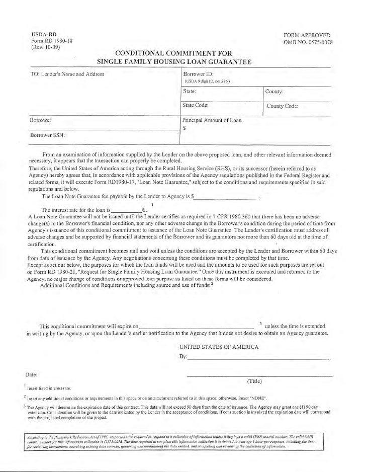 USDA Lender funding notice 8-23-2010