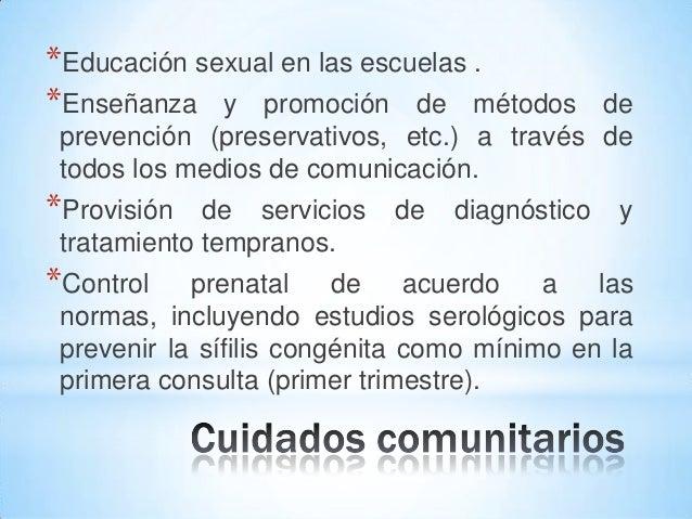Frases De Prevencion De La Sifilis: Sífilis Neonatal. Prevención De La Enfermedad Y Promoción