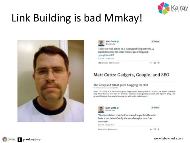 Content Marketing is the New Link Building by Brent Csutoras - SFIMA 2014 Slide 3