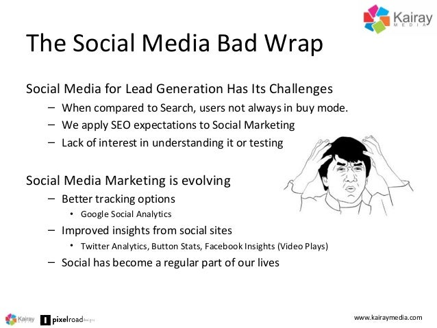 Lead Generation from Social Media by Brent Csutoras - SFIMA 2014 Slide 2
