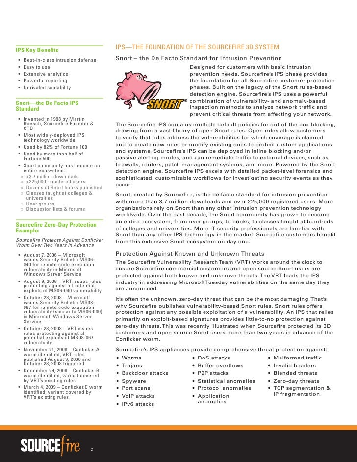 Sourcefire vulnerability research teamtm vrt white paper