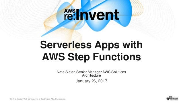 Introduction to AWS Step Functions