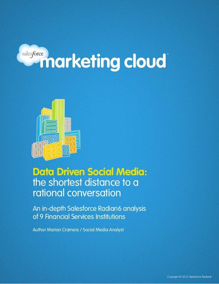 Data Driven Social Media:                                                                                 the shortest dis...