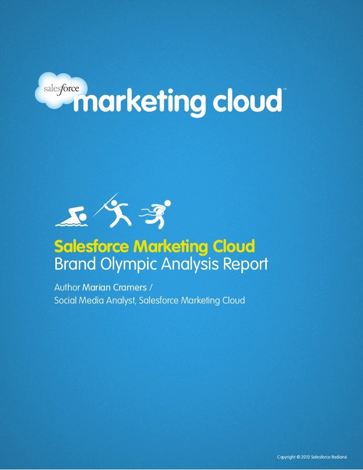 Salesforce Marketing Cloud                                                                 Brand Olympic Analysis Report  ...