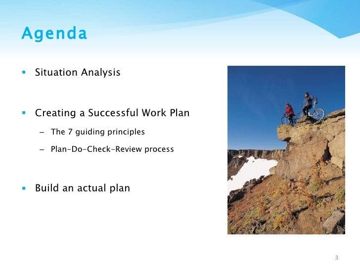 Managing Change: Creating a Successful Work Plan Slide 3