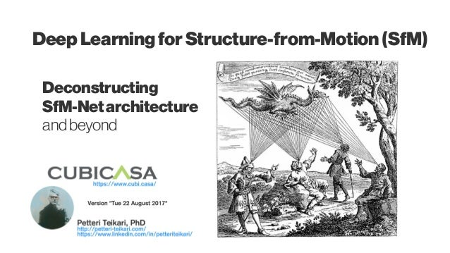 Deconstructing SfM-Netarchitecture andbeyond Deep LearningforStructure-from-Motion (SfM)