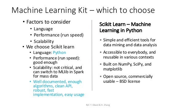 Scikit learn scala