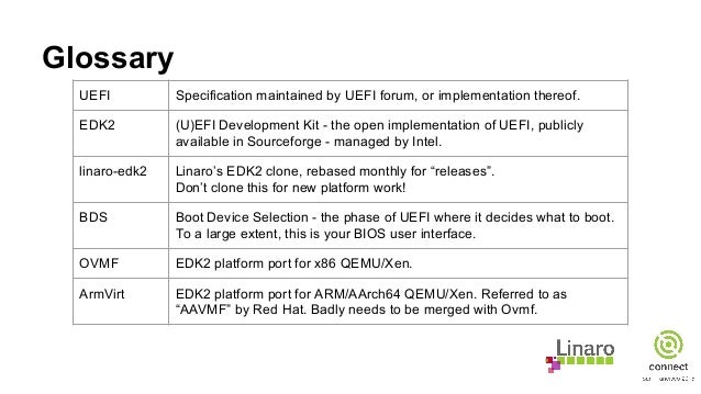 SFO15-211: UEFI on ARM - Dealing with legacy & moving on