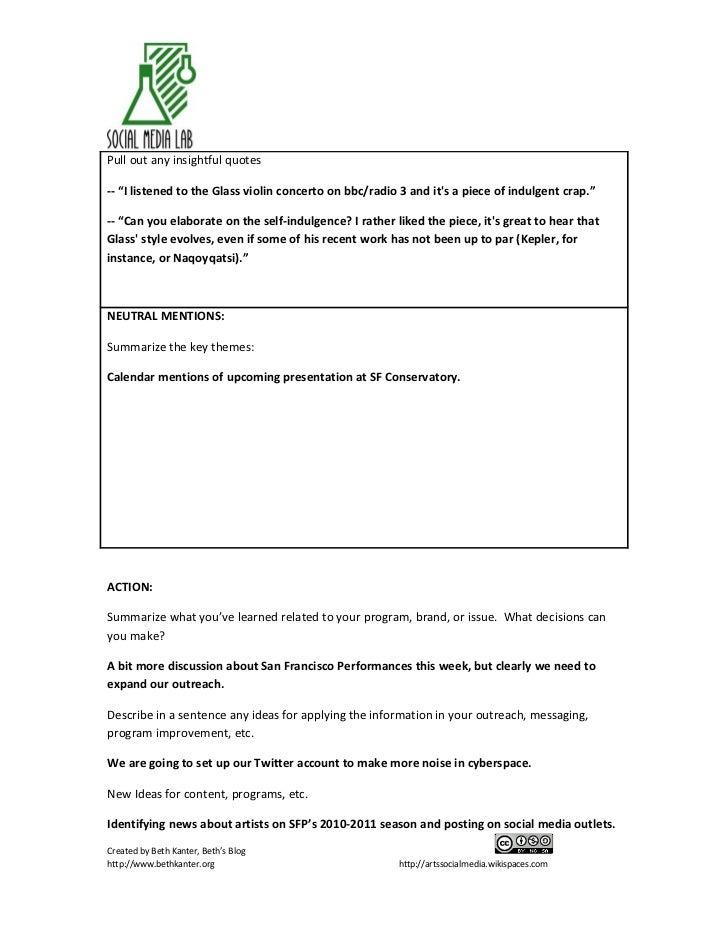 Sf performances listening report may 14 Slide 2