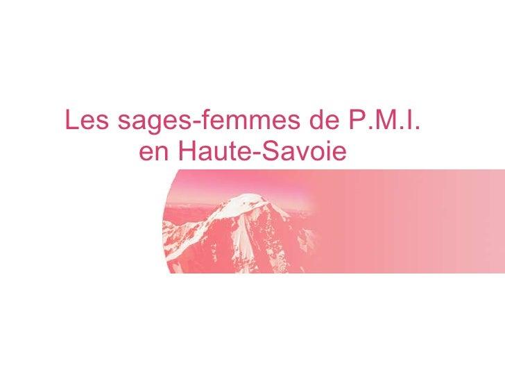 Les sages-femmes de P.M.I. en Haute-Savoie