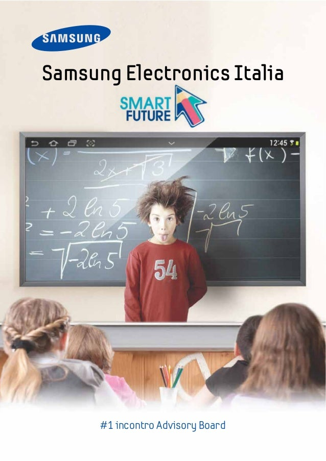 Samsung Electronics Italia #1 incontro Advisory Board