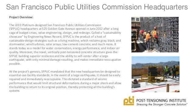 san francisco public utilities commission essay San francisco public utilities commission office of the general manager 1155 market st, 11th floor, san francisco, ca 94103 tel, (415)554-1600.