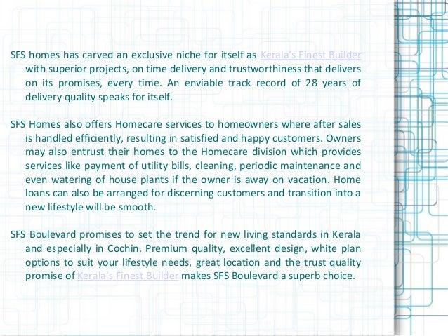 Boutique project homes