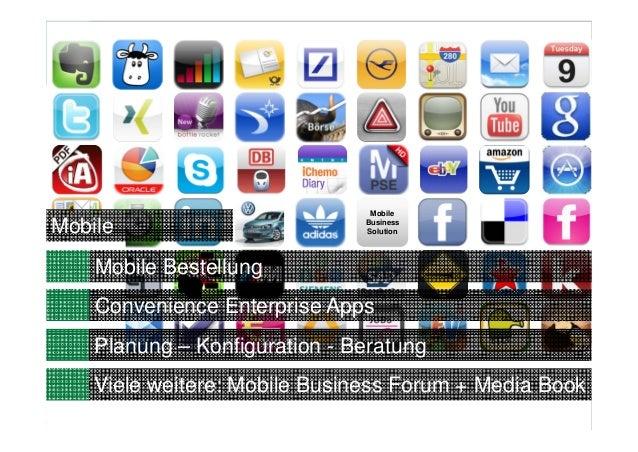 12MobileBusinessSolutionConvenience Enterprise AppsMobilePlanung – Konfiguration - BeratungViele weitere: Mobile Business ...
