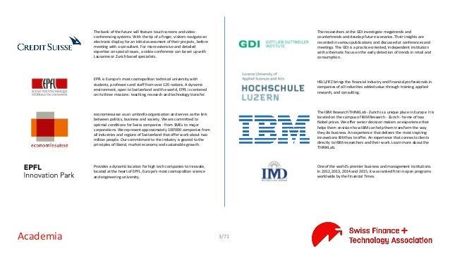 Swiss FinteCH Ecosystem Directory v2.0 Slide 3