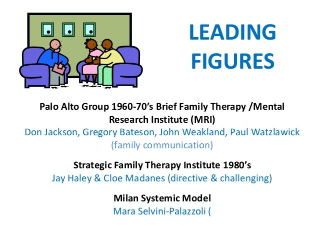 strategic family therapy Strategic family therapy strategic therapy introduces complexity into people's lives so that they have more options from which to choose: the end result is that treatment should bring more connectedness among people and encourage people to be more responsible to each other strategic therapy is both practical.