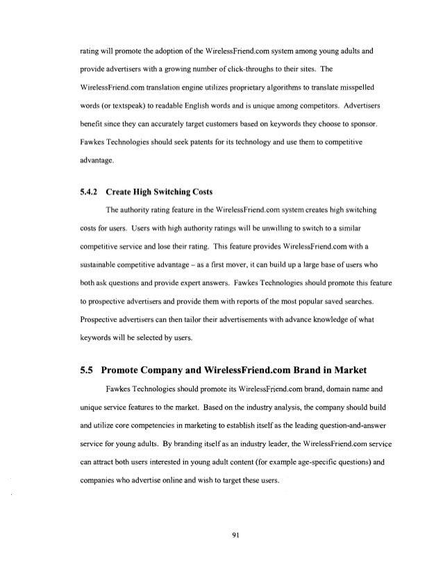 Sfu mba 2005 thesis   analysis internet advertising - g fawkes