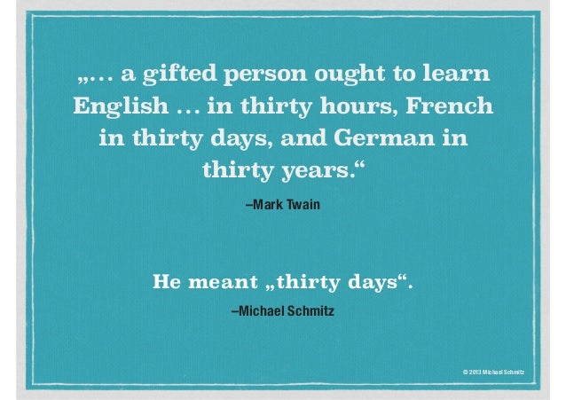 how to say 30 in german