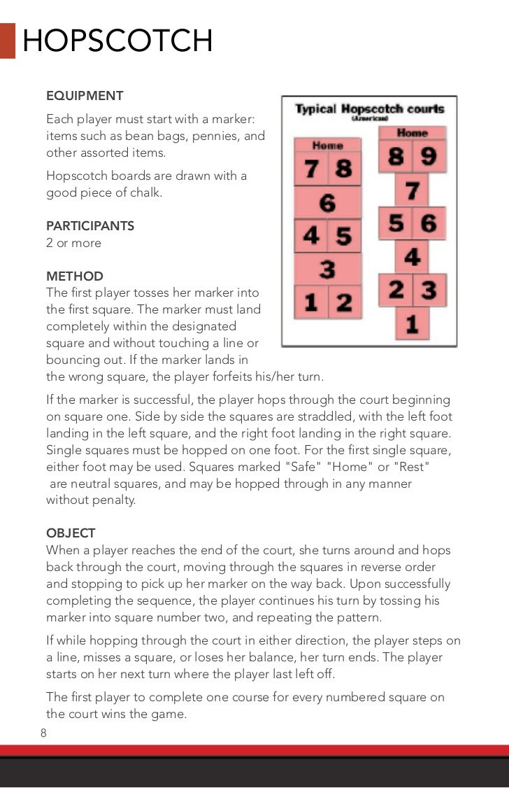 street games usa rules book
