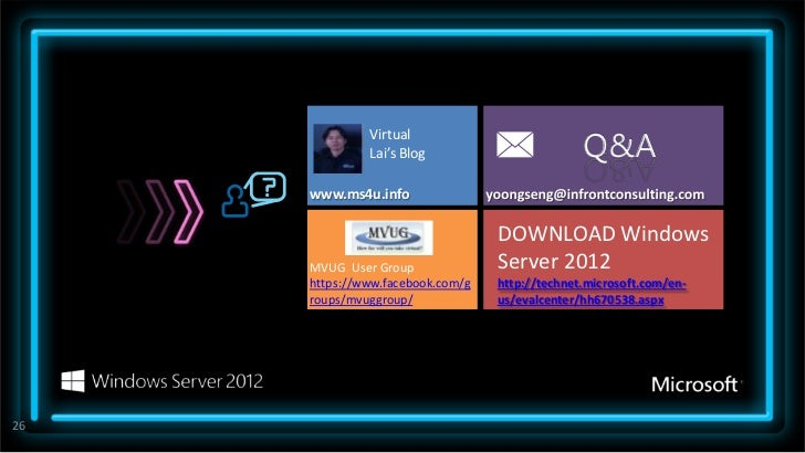 Additional Windows Server 2012 ReadinessResources                Microsoft IT Camps are expert led, no-                cos...