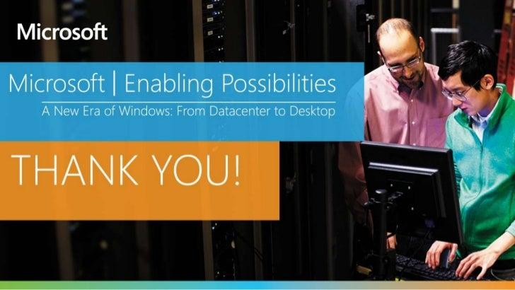 Storage Options in Windows Server 2012
