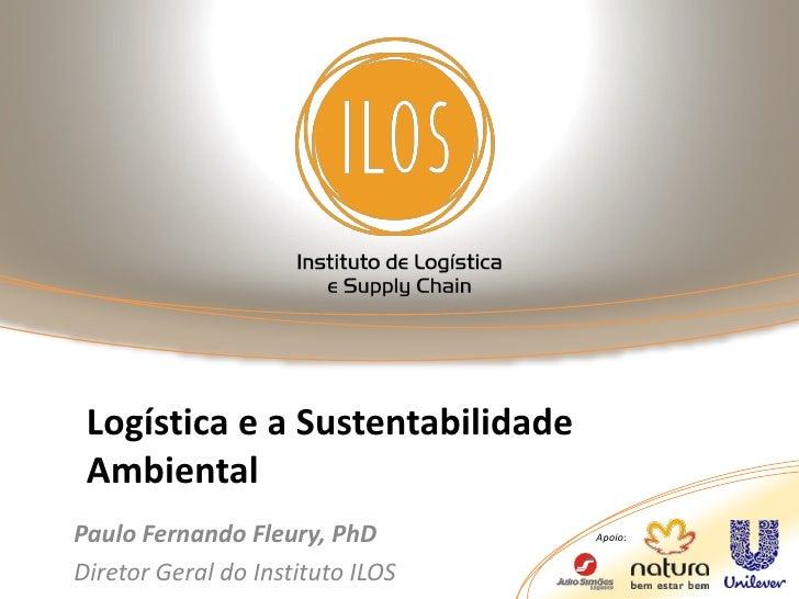 Sg01 logística e a sustentabilidade
