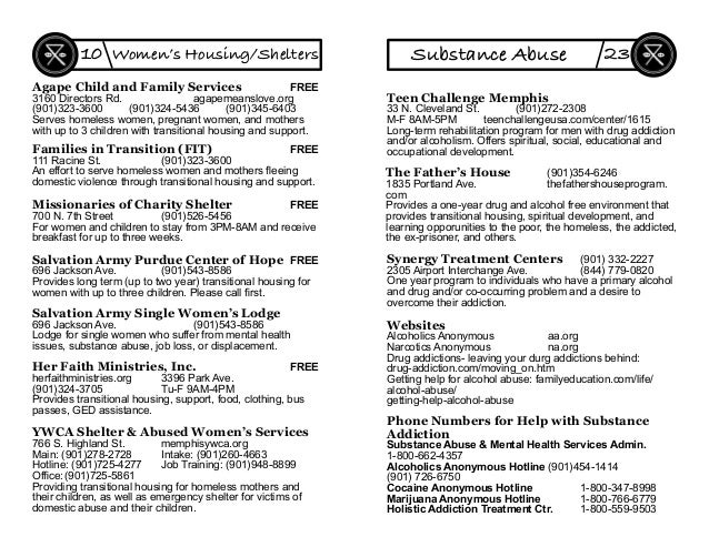 Agape Child and Family Services FREE 3160 Directors Rd. agapemeanslove.org (901)323-3600 (901)324-5436 (901)345-6403 Serve...