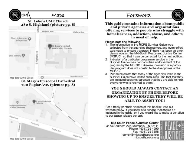 St. Luke's UME Church 480 S. Highland (picture pg. 8) St. Mary's Episcopal Cathedral 700 Poplar Ave. (picture pg. 8) Maps3...