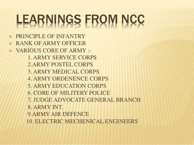 ncc  u0026 nss powerpoint presentation