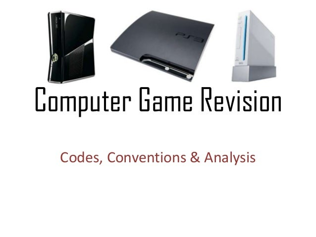 Computer Game Revision Codes, Conventions & Analysis