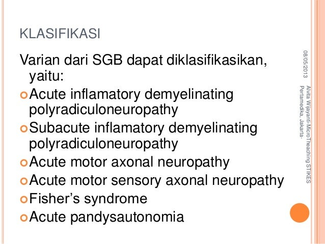 Askep Klien Dengan Guillain Barre Syndrome