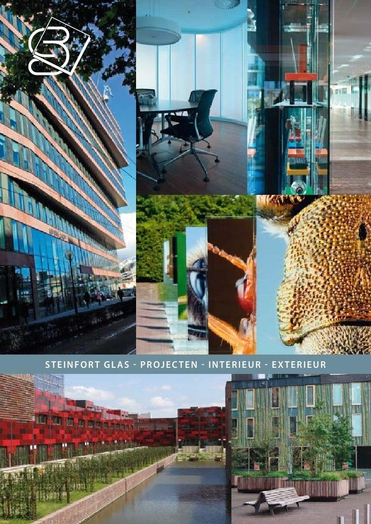 Steinfort GlaS - Projecten - interieur - exterieur