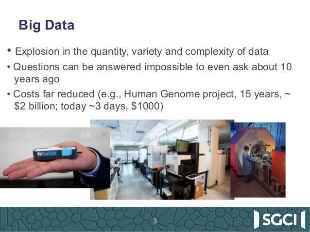 SGCI Science Gateways: Harnessing Big Data and Open Data 03-19-2017 Slide 3