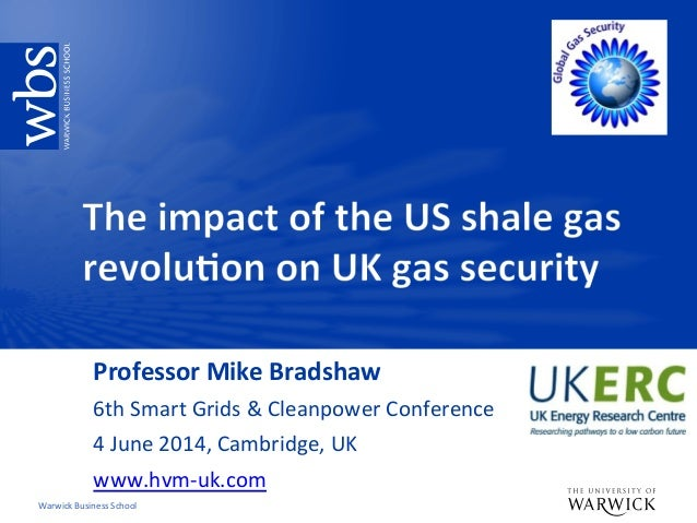 Warwick	   Business	   School	    Professor	   Mike	   Bradshaw	    6th	   Smart	   Grids	   &	   Cleanpower	   Conference...
