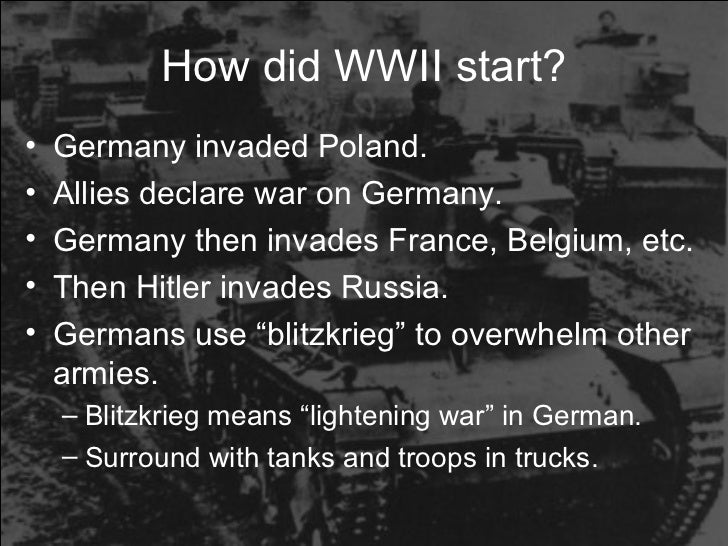 world war ii power point  15 how did wwii