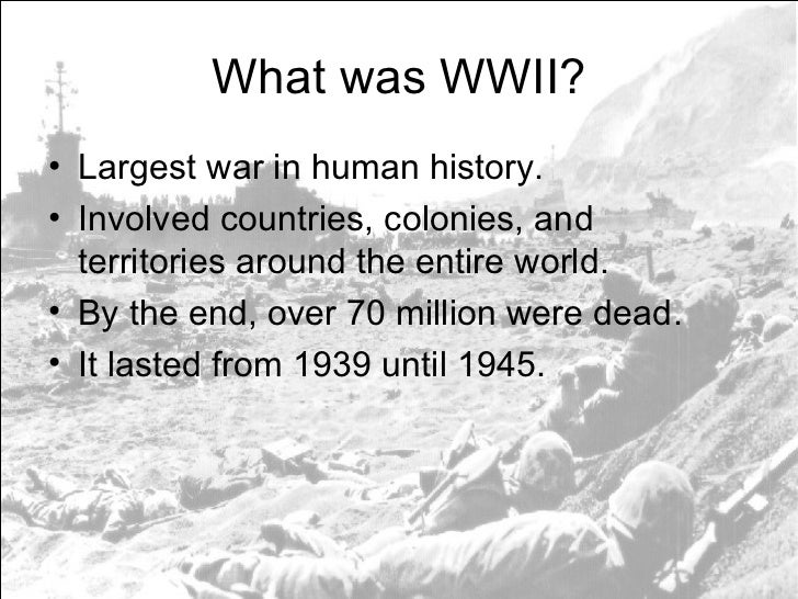 world war ii power point