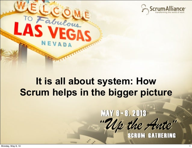 © Reaktor 2013It is all about system: HowScrum helps in the bigger picture1Monday, May 6, 13