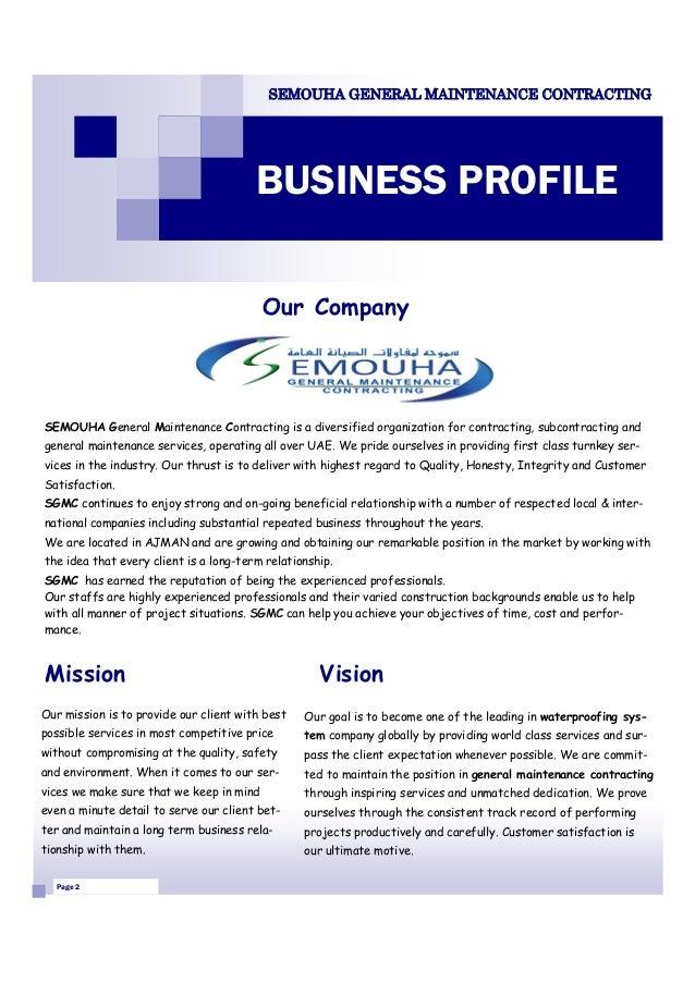 Company profile sample vatozozdevelopment company profile sample thecheapjerseys Image collections